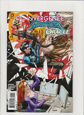 Convergence: Nightwing/Oracle #1 VF 8.0 DC Comics Batman Hawkman app.