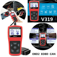 Car OBD2 Reader Scanner Tool EOBD CAN Auto Diagnostic Engine Fault Code Reader