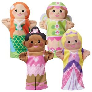 Storybook Friends Hand Puppets - Set of 4