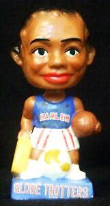 Vintage 1962 Harlem Globetrotters Basketball Blue Base Bobble Head Nodder