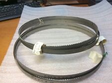 (2) 10Ft 10' (10.5 Ft) Lenox Matrix Electron Weld Band Saw Blades New  00004000 Nos $89