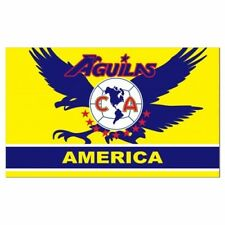 AGUILAS DEL AMERICA FLAG 3'x 5'   / Soccer Club Tu Equipo Favorito