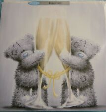 "Engagement card Tatty Teddy Me to You 178mm x 178mm / 7"" x 7"" NEW & SEALED"