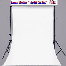 3X5Ft Pure White Small Backdrop Vinyl Photography Background Studio Props Photo