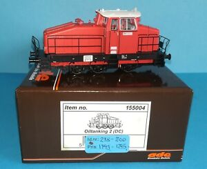 ADE/Hobbytrade # 155004 Oiltanking 2 Henschel DHG 500 rot. DC