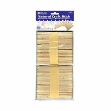 Natural Craft Stick (100/Pack)