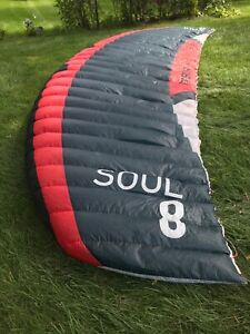 2019 8m Flysurfer Soul kite only