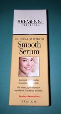 Bremenn Clinical Strength Smooth Serum 1.7oz BRAND NEW IN BOX & FRESH- FREE SHIP