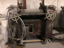 Keith Machinery Three Roll Mill