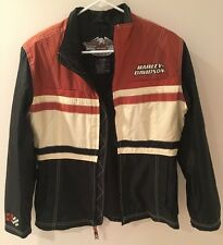 Harley Davidson Windbreaker Coat Rain Size Small Nylon Men's Jacket