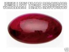 Cabochon Loose Rubies