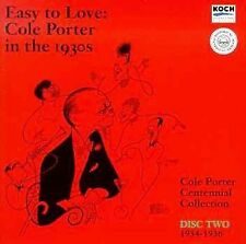 Cole Porter : 1930s Vol 2: Easy to Love CD- **Mint Condition**