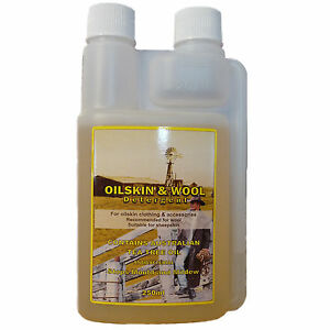Australian Oil Skin Detergent wash for cleaning and care of waxed cotton jackets