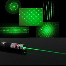 10pcs Green Laser Pointer 6 in 1 5mw Star CAP Projector Pen Lazer 532nm