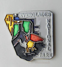 FLORIDA EVERGLADES NATIONAL PARK UNITED STATES LAPEL PIN BADGE 1 INCH