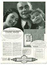"""Publicité Ancienne """"  Frigidaire l'économe du Foyer  """"   1938"""