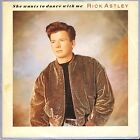 """RICK ASTLEY she wants to dance with me/instrumental PB42189 uk 1988 7"""" PS EX/EX"""