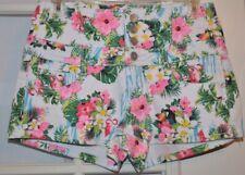 Almost Famous Floral Denim Shorts Size 7