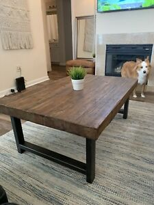 Pottery Barn Coffee Table & End Table