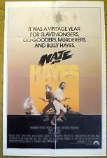 """""""NATE AND HAYES"""" in a Swashbuckling Adventure in the 1800's - movie poster"""
