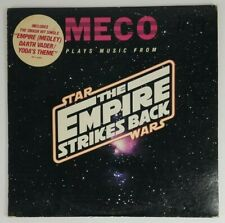 """MECO plays music from Star Wars The Empire Strikes Back 1980 EP 10"""" Promo record"""
