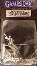 WARHAMMER Fantasy Limited Edition Giochi giorno 2011 Skaven Signore della Guerra Nuovo di zecca con scatola raro fuori catalogo