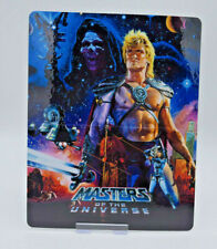 MASTERS OF THE UNIVERSE - Glossy Bluray Steelbook Magnet Cover (NOT LENTICULAR)