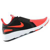 NIKE MENS Shoes Current Slip On - Bright Crimson & Black - 874160-600