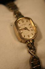 Ladies' vintage 1950's Swiss, dress, luxury, gold Wittnauer, 17J wristwatch