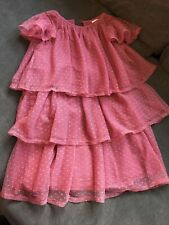 Polarn O. Pyret Girls Tiered Dress - Size 2-3 Years