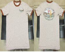 """ABERCROMBIE & FITCH mens """"PINE POINT CAMP"""" muscle fit RINGER SHIRT hollister"""