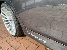 2x BMW M Performance Aufkleber, Sticker, Decor, Silber, JDM