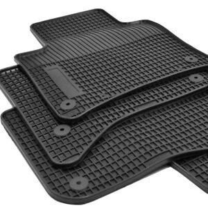 OP Gummimatten Gummifußmatten passend für VW Touareg II 7P Bj. 2010 - 2018 Sch