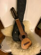 Charango (South American instrument) with case and manual (small crack)