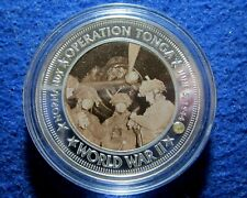 June 5, 1944 WWII Operation Tonga Proof Commemorative Medal Encapsulated