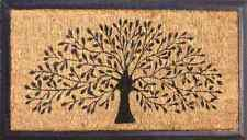 Tree Of Life Natural Coir on Recycled Rubber Door Mat