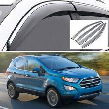 Car Window Vent Visor Deflector Shade Sun/Rain Guard for Ford EcoSport 2018-2020