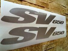 x2 Suzuki SV 650 High Cast Vinyl Decals Stickers Self Adhesive Moto Bike Kit