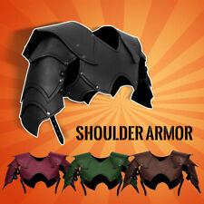 Medieval Costume Chest Shoulder Armor Cuirass Breastplate Gladiator Pauldrons