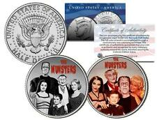 THE MUNSTERS * TV SHOW * Colorized JFK Half Dollar 2-Coin Set Herman Eddie Lily