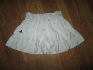 Womens ADIDAS AEROREADY skort skirt built n spandex shorts S SM tennis