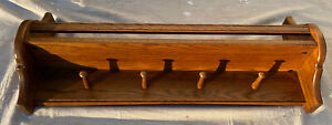 Vintage Ethan Allen Canterbury Oak Wall Shelf Book Shelf Solid Wood Item B