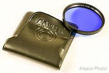 filtre B+W 55 mm 55E KB20 2,7 x   bleu foncé