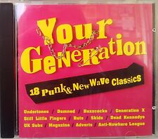 Various Artists - Your Generation: 18 Punk & New Wave Classics (CD 1993)