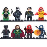 Deadshot Minifigure Firestar Mister Terrific Figure Building Blocks Toys For Kid