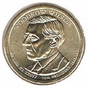 Amerika dollar 2013 D Unc - W. Wilson