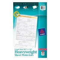 "Avery Legal Size Heavyweight Sheet Protectors - 1 Sheet Capacity - Legal 8.50"" X"
