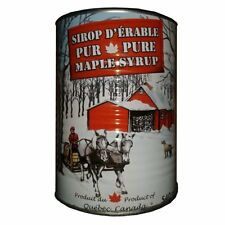 8X = 1gallon 100% Pure Canadian maple syrup Canada Quebec home made Cans 541 ml