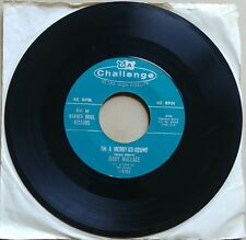 JERRY WALLACE On A Merry Go Round/Move Over 1963 COUNTRY Challenge Records 45 7""