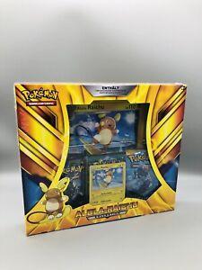 Pokemon Alola Raichu Kollektion Box Deutsch //Nacht in Flammen Booster// NEU OVP